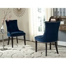 Navy Parsons Chair Blue Dining Room U0026 Kitchen Chairs Shop The Best Deals For Nov