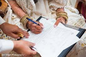 wedding signing adorable indian signing wedding contract in new york ny