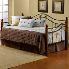 hillsdale madison metal with wood posts daybed walmart com