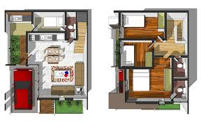 Floor Plan 4 Bedroom Bungalow Delighful 3 Story House Floor Plans Townhouse Intended Inspiration