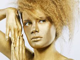 gold hair golden tresses thanks to nanotechnology you can now dye your