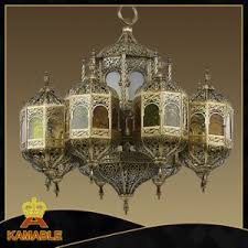 Morrocan Chandelier China Arabic Style Brass Moroccan Chandelier Lamp 009 China