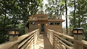 frank lloyd wright see inside a frank lloyd wright inspired treehouse today com