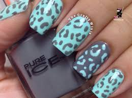 easy leopard cheetah nails by the crafty ninja youtube