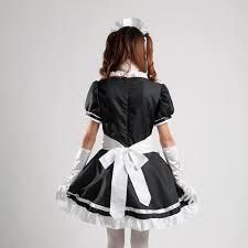 amazon com avacostume anime cosplay maid halloween fancy