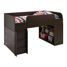 3 Drawer Desk Organizer by Ameriwood Furniture Elements Loft Bed With Bookcase And 3 Drawer