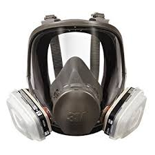 3m 7162 full facepiece spray paint respirator organic vapor