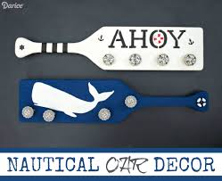Oar Decor by Nautical Diy Decor Decorative Oar Wall Hangers Darice