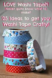 washi crafts ideas ted s