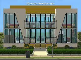 Home Designs Sims 4 Excellent Sims 4 House Ideas Blueprints Contemporary Exterior