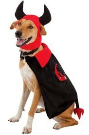Big Dog Halloween Costume Devil Dog Pet Halloween Costumes Pet Halloween Costumes