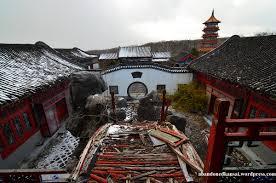tenkaen u2013 japan u0027s lost china theme park abandoned kansai