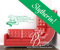 decal drama slytherin harry potter sorting hat song from harry slytherin harry potter sorting hat song from harry potter and the sorcerers stone