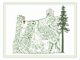 Map States Usa by Large Detailed Map Of Oregon State Oregon State Usa Maps Of