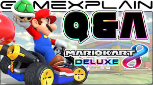 mario kart 8 deluxe u0026a 50 questions answered