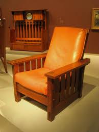 file adjustable back chair no 2342 gustav stickley 1900 1904
