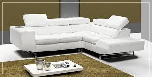 canapé d angle en cuir blanc canapé d angle cuir blanc sofamobili