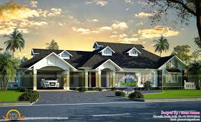 luxury bungalow exterior kerala home design siddu buzz online