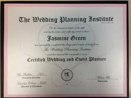 wedding planner certification course wedding planner certification template template and template
