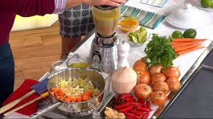 the chew co host clinton s carrot soup recipe