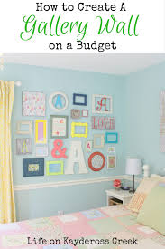 How To Design A Gallery Wall How To Create A Gallery Wall On A Budget Life On Kaydeross Creek