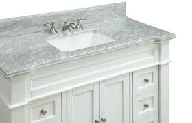 Furniture Style Bathroom Vanity White Bathroom Vanity And Storage Cabinet Schrock White Bathroom