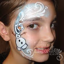 winter face painting amanda u0027s elaborate eyes face u0026 body