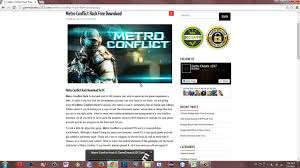 metro conflict hack no reload unlimited ammo u0026 more cheats