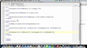 Table Td Width Html 13 Customising Your Table Width Colspan U0026 Rowspan Youtube