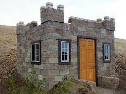 how to build a concrete block house castle construction building a split face block castle guest house