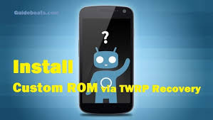 custom recovery android install custom rom using twrp recovery easy tutorial