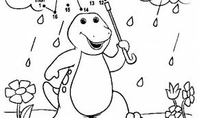 barney coloring pages print barney coloring sheets
