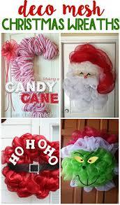 cheap deco mesh christmas deco mesh wreath ideas deco mesh wreaths and