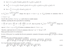 series of new information divergences properties and
