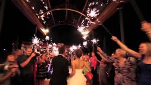 Sparklers For Weddings Hitchme Weddings Miami Wedding Sparkles Youtube