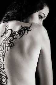 butterfly uv art tattoo design on sleeve for girls tattoo design