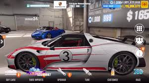 porsche home garage csr 2 buying the porsche 918 weissach and racing youtube