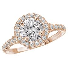 diamond jewelry rings images Halo semi mount diamond ring j parkerson jewelers jpg