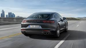 porsche panamera turbo red panamera the sports car among luxury saloons