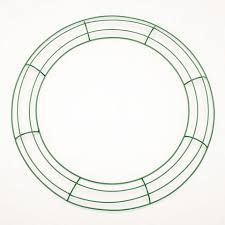 wreath forms metal wreath forms 16 inch large green wire frame