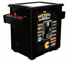 buy pac man u0027s arcade party cocktail table w ms pac man game