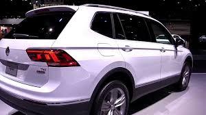 white volkswagen tiguan 2017 2018 volkswagen tiguan allspace pearl white exterior and