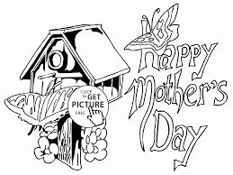 butterfly for mother u0027s day coloring page for kids coloring pages