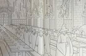 harry potter coloring book lets explore magical