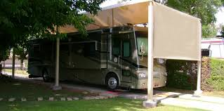 Rv Shade Awnings Residential Carports Shade N Net