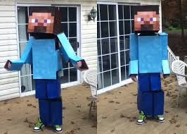 Minecraft Costume Halloween Son U0027s Minecraft Costume Halloween Boardgamegeek