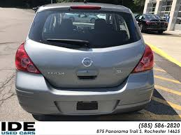 nissan versa jack points pre owned 2008 nissan versa 1 8 sl 4dr car in rochester uh5864