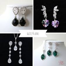 most beautiful earrings introducing wedding jewelry from glitz chic vintage