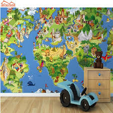 compare prices on cartoon map wallpaper online shopping buy low