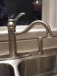 design house oakmont kitchen faucet design house oakmont single handle standard kitchen faucet with side